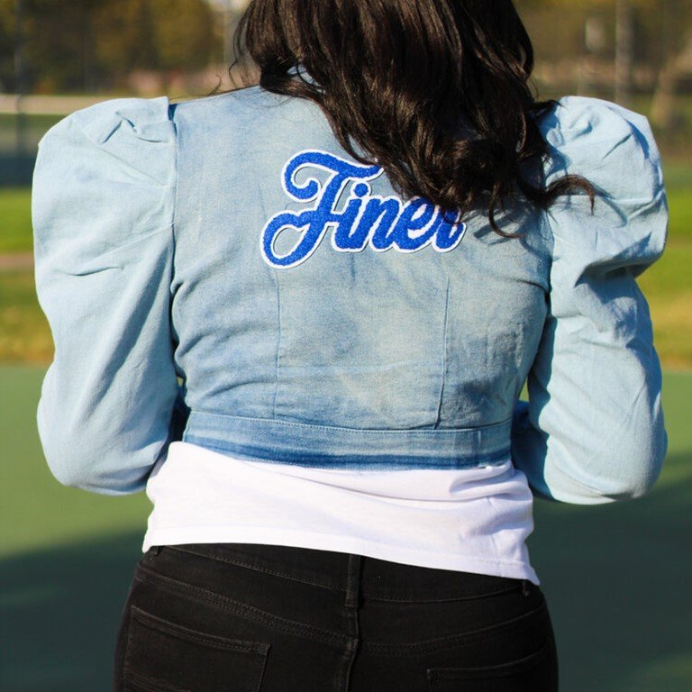 Finer Denim Jacket, Light Wash