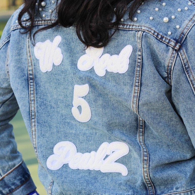 We Rock 5 PearlZ Denim Jacket