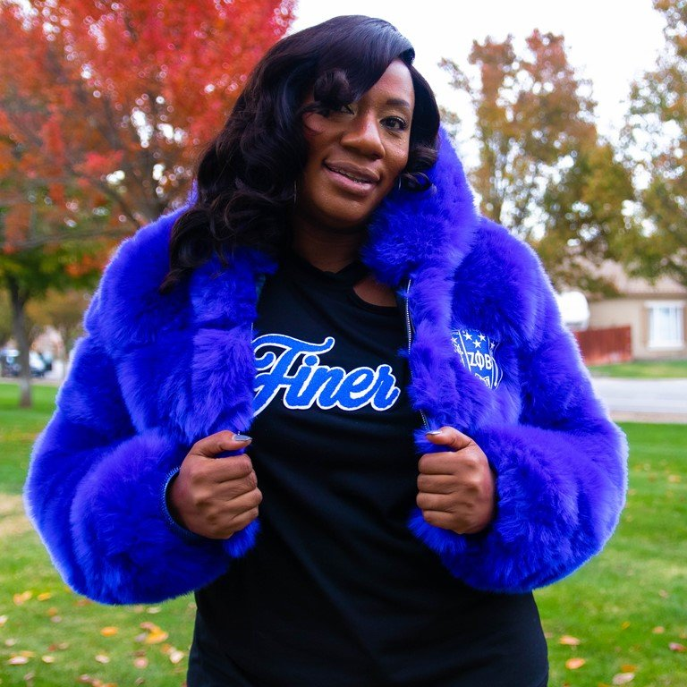 Zeta Fur Coat by Five Pearlz Design
